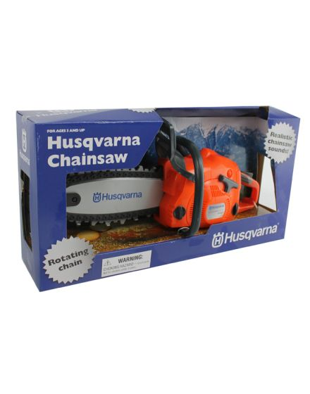 Husqvarna Kids Toy Battery Operated Chainsaw With Rotating Chain