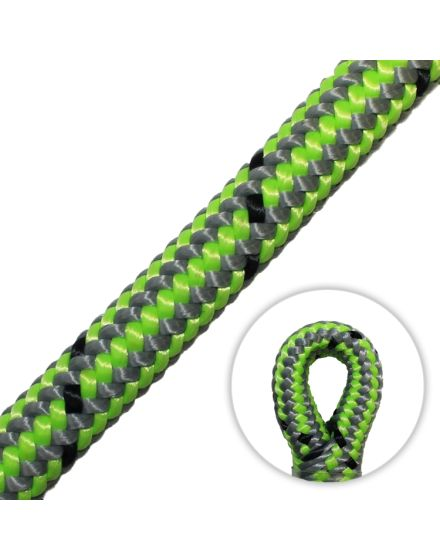 Marlow Vega 11.7mm Climbing Rope (Spliced Eye) - Green