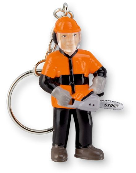 STIHL Forestry Worker Keyring Figure