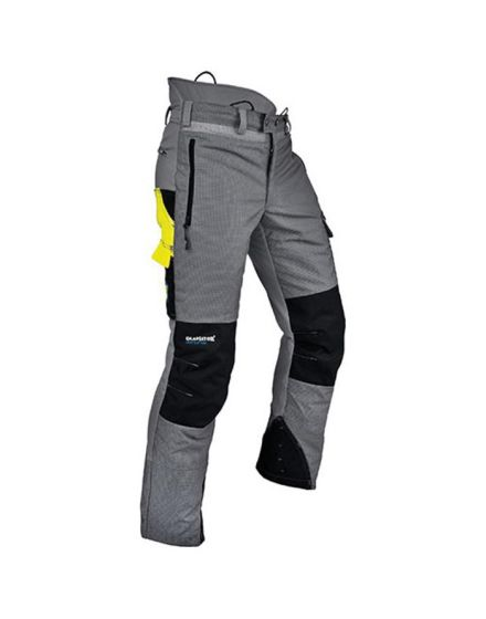 Pfanner Ventilation Grey Chainsaw Trousers - Type C - Class 1
