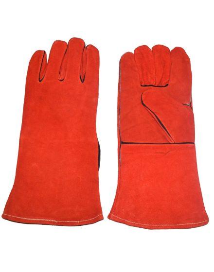 Welders Gauntlet Super Red Gloves
