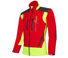 Arbortec Breatheflex Red & Yellow Work Jacket