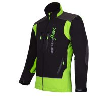 Arbortec Breatheflex Lime & Black Work Jacket