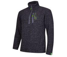 Arbortec Wolf Half-Zip Knitted Grey Fleece