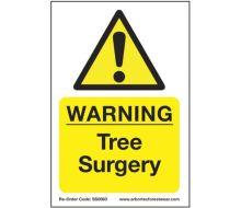 Arbortec 'Warning Tree Surgery' Corex Safety Sign