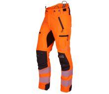 Arbortec Breatheflex Pro Hi-Vis Orange Chainsaw Trousers  - Type A - Class 1