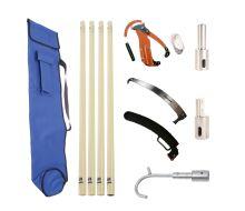 AUS Basic Fibre Glass Pole Kit - 4 Total Poles