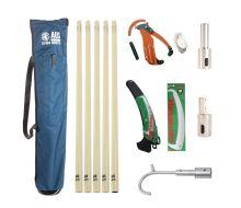 AUS ProPlus Fibre Glass Pole Kit - 5 Total Poles