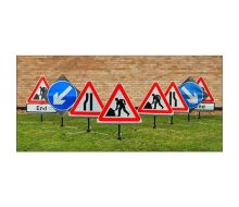 Quazar TriFlex 750mm Chapter 8 Road Sign Kit