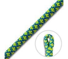 Cousin ATRAX 11.6mm Yellow/Blue Climbing Rope (Spliced Eye)