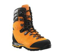 Haix Protector Orange Forest Chainsaw Boots