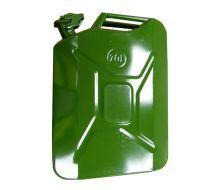 20 Litre Heavy Duty Steel Jerry Can - Green