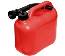 Red Fuel Can With Spout - 5L