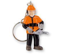 STIHL Forestry Worker Keyring Figure