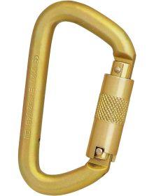 ISC Steel Offset D Triple Lock Karabiner