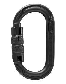 Edelrid Oval Power Black Triple Lock Karabiner