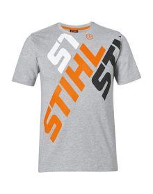 STIHL Grey Logo T-Shirt