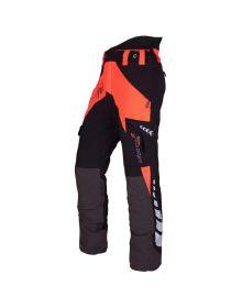 Arbortec Breatheflex Orange Chainsaw Trousers - Type A - Class 1