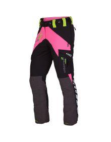 Arbortec Breatheflex Pink Female Chainsaw Trousers - Type C - Class 1
