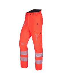 Arbortec Breatheflex Hi-Vis Orange Trousers - Type C - Class 1
