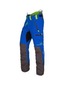 Arbortec Breatheflex Pro Blue Chainsaw Trousers - Type C - Class 1