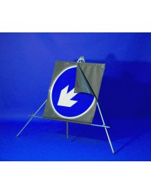 Classic Roll Up 750mm Blue Arrow Reversible