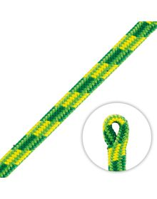 Petzl Control 12.5mm Green Climbing Rope (Spliced Eye)