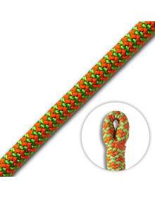 Cousin ATRAX 11.6mm Green/Orange Climbing Rope (Spliced Eye)