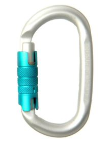 Edelrid Oval Power Triple Lock Karabiner
