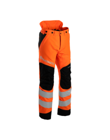 Husqvarna Hi-Vis 20A Chainsaw Trousers - Type A - Class 1