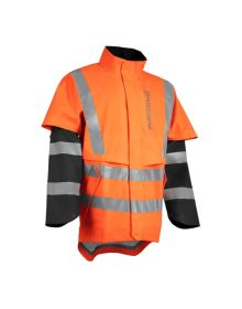 Husqvarna Functional Hi-Vis Rain Jacket