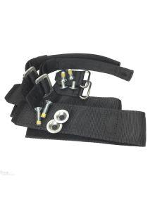 Distel Lower Velcro Spike Straps