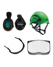 Petzl Vertex Vent Climbing Helmet Kit (Husqvarna Combinations)