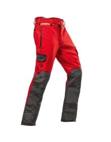 Pfanner Arborist Red Chainsaw Trousers - Type A - Class 1