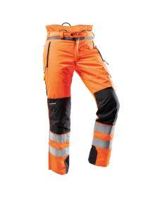 Pfanner Ventilation Hi-Vis Orange Chainsaw Trousers - Type A - Class 1