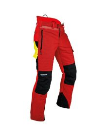 Pfanner Ventilation Red Chainsaw Trousers - Type C - Class 1
