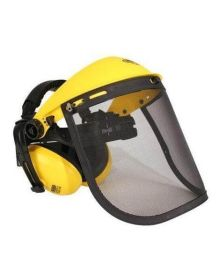 Rocwood Visor/Ear Muff on Head Band - Mesh