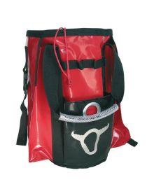 silver bull pvc red bag