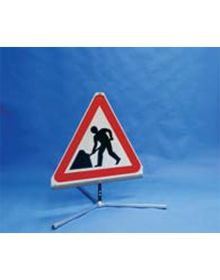 Quazar Triflex Men At Work Road Sign – 750mm