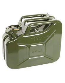 Rocwood Heavy Duty Steel Green Jerry Can - 10L