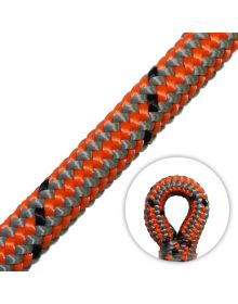 Marlow Vega 11.7mm Climbing Rope (Spliced Eye) - Orange