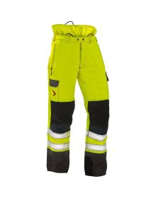 Pfanner Hi-Viz Yellow Highway Chainsaw Trousers - Type C