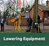 Arborist lowering equipment