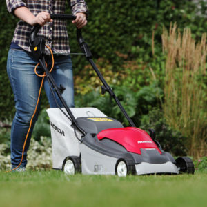 Electric Mowers are ideal for smaller lawns