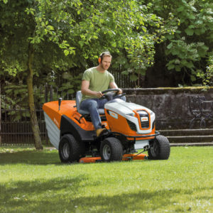 Ride-on mowers for large lawns
